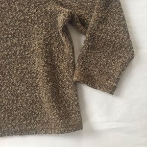 Vintage Sweaters - Vintage Brown Popcorn Sweater